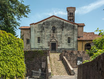 ιταλικό παλαιό χωριό Στοκ Εικόνες