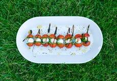 ιταλικό πρόχειρο φαγητό Στοκ Εικόνες