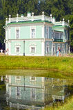Ιταλικό σπίτι 1754-55 αρχιτέκτονες Argun και Kologrivov Μόσχα κτημάτων Kuskovo συνόλων Στοκ εικόνα με δικαίωμα ελεύθερης χρήσης