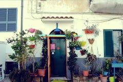 Ιταλικό σπίτι Στοκ εικόνες με δικαίωμα ελεύθερης χρήσης