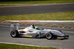 Ιταλικό τρόπαιο Dallara τύπου F2 που συναγωνίζεται σε Monza Στοκ Φωτογραφίες