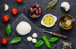 Ιταλικό τυρί κουζίνας Στοκ Εικόνες