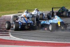 Ιταλικό F4 πρωτάθλημα που τροφοδοτείται από Abarth στοκ εικόνες