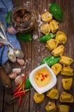 ιταλικό tortellini ζυμαρικών Στοκ Εικόνα