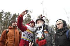 ΙΧ τελική φάση του Παγκόσμιου Κυπέλλου IBU BMW 25 Biathlon 03 2018 Στοκ εικόνα με δικαίωμα ελεύθερης χρήσης