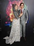 Ιωάννα Newsom & Andy Samberg Στοκ Εικόνα