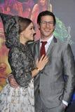 Ιωάννα Newsom & Andy Samberg Στοκ εικόνα με δικαίωμα ελεύθερης χρήσης