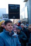 Ιόβα Σίτι 2018 γυναικών ` s Μάρτιος Στοκ Εικόνες