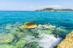 Ιόνια θάλασσα Στοκ Εικόνες