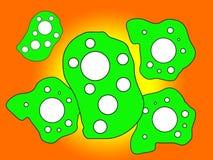 Ιός ή βακτηρίδια 4 Στοκ εικόνες με δικαίωμα ελεύθερης χρήσης