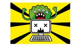 ιός τεράτων ελεύθερη απεικόνιση δικαιώματος