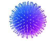 ιός της γρίπης ελεύθερη απεικόνιση δικαιώματος
