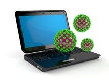 ιός υπολογιστών Στοκ εικόνα με δικαίωμα ελεύθερης χρήσης