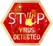 ιός υπολογιστών Στοκ φωτογραφία με δικαίωμα ελεύθερης χρήσης