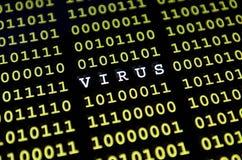 ιός υπολογιστών Στοκ Φωτογραφίες