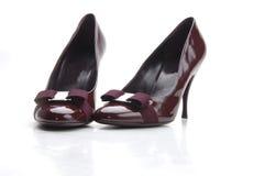 Ιώδες παπούτσι Στοκ εικόνες με δικαίωμα ελεύθερης χρήσης