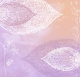 ιώδες ροζ κρητιδογραφιώ&n Στοκ Εικόνα