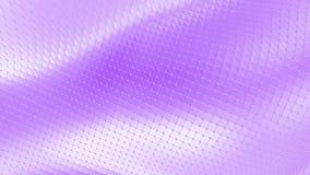 Ιώδης ή πορφυρή χαμηλή πολυ επιφάνεια κυματισμού ως τοπίο ή τηλεοπτικό παιχνίδι Ιώδες γεωμετρικό δομένος περιβάλλον ή να κυμαθεί απεικόνιση αποθεμάτων