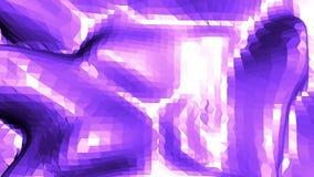 Ιώδης αφηρημένη χαμηλή πολυ επιφάνεια κυματισμού ως κυβερνητικό υπόβαθρο Ιώδες αφηρημένο γεωμετρικό δομένος περιβάλλον ή διανυσματική απεικόνιση