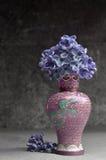 Ιώδης μακρο σύνθεση λουλουδιών Στοκ φωτογραφία με δικαίωμα ελεύθερης χρήσης