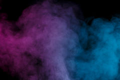 Ιώδης μπλε υδρατμός Στοκ φωτογραφία με δικαίωμα ελεύθερης χρήσης