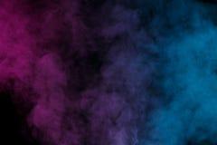 Ιώδης μπλε υδρατμός Στοκ εικόνα με δικαίωμα ελεύθερης χρήσης