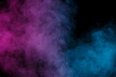 Ιώδης μπλε υδρατμός Στοκ φωτογραφίες με δικαίωμα ελεύθερης χρήσης