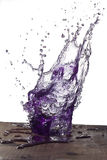 Ιώδης παφλασμός νερού στοκ εικόνες με δικαίωμα ελεύθερης χρήσης