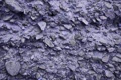 Ιώδης σύσταση τοίχων πετρών Στοκ Φωτογραφία