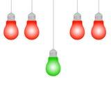 Ιδέα βολβών φωτισμού Στοκ Εικόνες