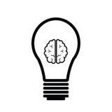 Ιδέα εγκεφάλου Στοκ φωτογραφία με δικαίωμα ελεύθερης χρήσης