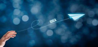 Ιδέα και δημιουργική διαδικασία στοκ εικόνα