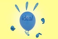 Ιδέα! Στοκ Εικόνες