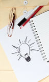 ιδέες έννοιας Στοκ Εικόνα