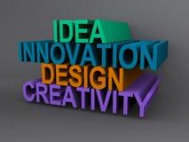 Ιδέες και καινοτομία διανυσματική απεικόνιση