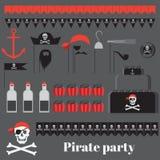 Ιδέες κομμάτων πειρατών Στοκ φωτογραφίες με δικαίωμα ελεύθερης χρήσης