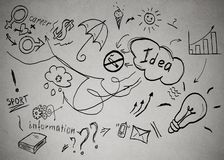 Ιδέες να πετύχει στην προσωπική ζωή και την επαγγελματική σταδιοδρομία απεικόνιση αποθεμάτων