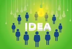 Ιδέες 'brainstorming' Στοκ Εικόνες