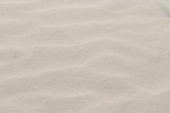 ιδανική σύσταση άμμου ανασκοπήσεων Αμμώδης παραλία για το υπόβαθρο Τοπ όψη στοκ φωτογραφία