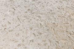 ιδανική σύσταση άμμου ανασκοπήσεων Στοκ Εικόνα