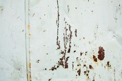 Ιδιαίτερα λεπτομερής εικόνα του σκουριασμένου υποβάθρου μετάλλων grunge Στοκ εικόνα με δικαίωμα ελεύθερης χρήσης