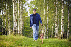 ιδιοκτήτης σκυλιών Στοκ Εικόνα