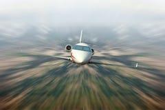 Ιδιωτικό αεριωθούμενο αεροπλάνο Στοκ Εικόνες