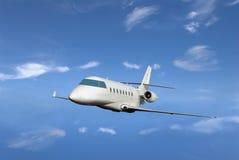 Ιδιωτικό αεριωθούμενο αεροπλάνο Στοκ φωτογραφία με δικαίωμα ελεύθερης χρήσης
