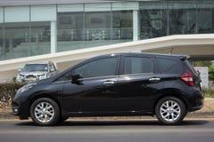 Ιδιωτική νέα σημείωση της Nissan αυτοκινήτων Eco Στοκ φωτογραφίες με δικαίωμα ελεύθερης χρήσης