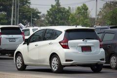 Ιδιωτική νέα σημείωση της Nissan αυτοκινήτων Eco Στοκ Εικόνες