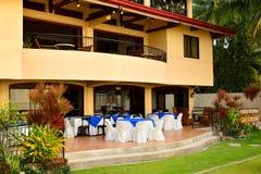 Ιδιωτική πρόσοψη VIP θερέτρου κατοικιών σε Negros Ασιάτης, Φιλιππίνες Στοκ Εικόνα