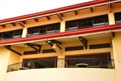 Ιδιωτική πρόσοψη VIP θερέτρου κατοικιών σε Negros Ασιάτης, Φιλιππίνες Στοκ φωτογραφίες με δικαίωμα ελεύθερης χρήσης