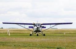 Ιδιωτική στάση αεροπλάνων Στοκ φωτογραφία με δικαίωμα ελεύθερης χρήσης