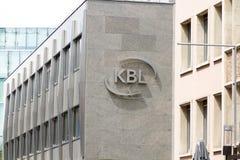 Ιδιωτικοί τραπεζίτες KBL στοκ εικόνες με δικαίωμα ελεύθερης χρήσης